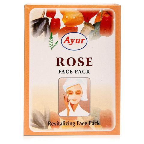 Ayur Rose Face Pack (Revitalizing Face Mask ) (100g)