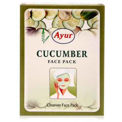 Ayur Cucumber Face Pack (100grm)
