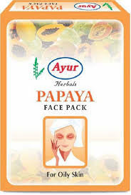 Ayur Herbals Papaya Face Pack (100grm)