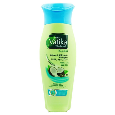Dabur Vatika Natural Shampoo (Volume & Thickness) - 400ml