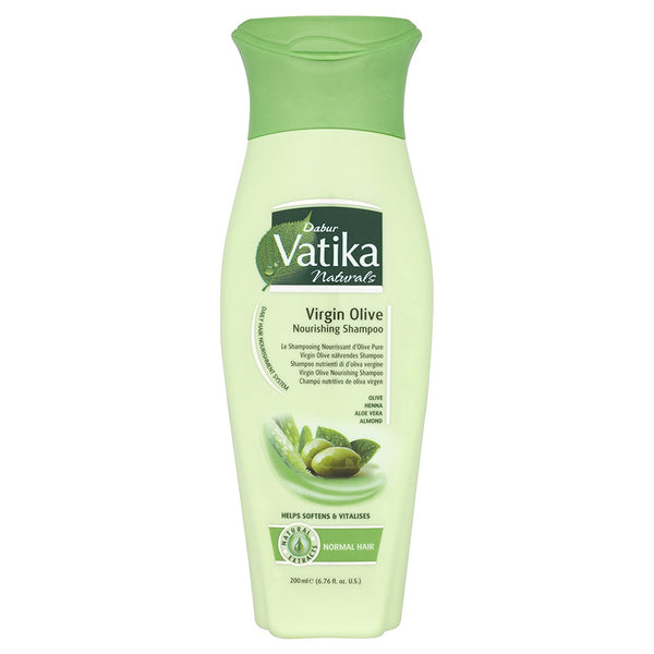 Dabur Vatika Natural Shampoo (Virgin Olive Nourishing)- 400ml