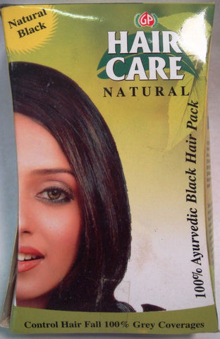 GP Hair Care Natural Black Henna