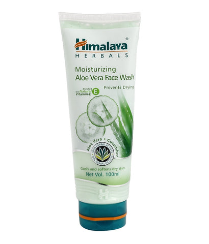 Himalaya Herbal Moisturizing Aloe Vera Face Wash- 100ml