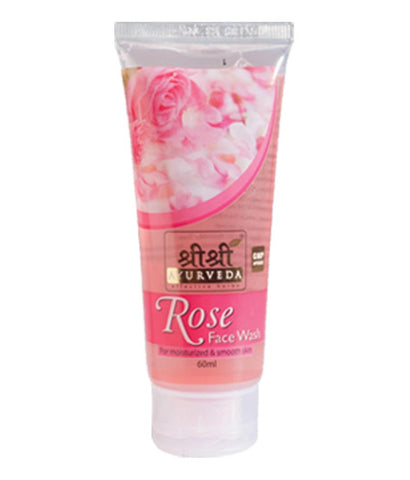 Sri Sri Ayurveda Rose Face Wash- 60ml
