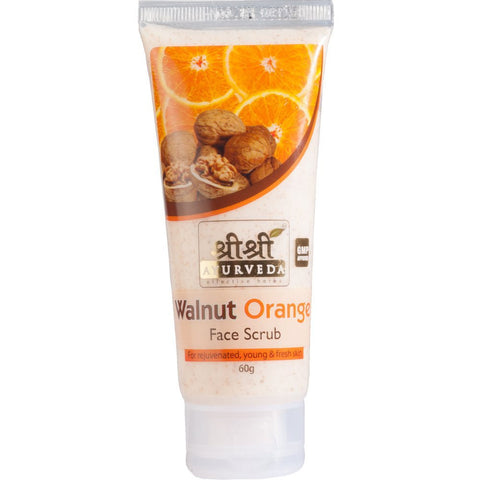 Sri Sri Ayurveda Walnut Orange Face Scrub- 60g