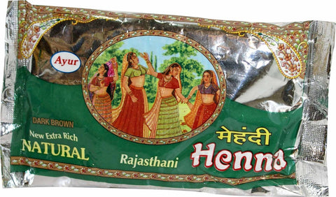 Ayur Natural Rajasthani Henna (Dark Brown)