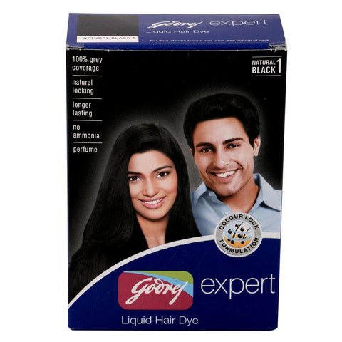 Godrej Liquid Hair Dye (Natural Black)