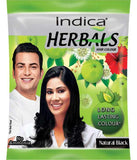Indica Natural Black Herbal Based Hair Color