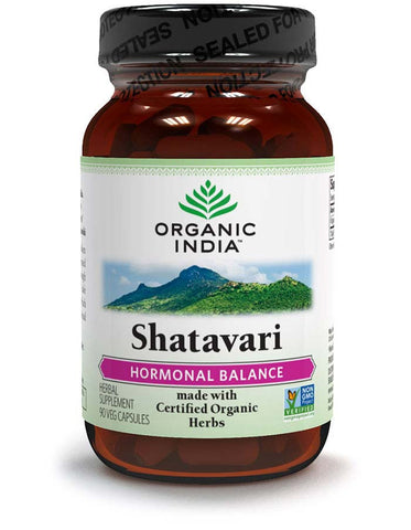 Organic India Herbal Supplement (Shatavari)- 90 Veg Caps