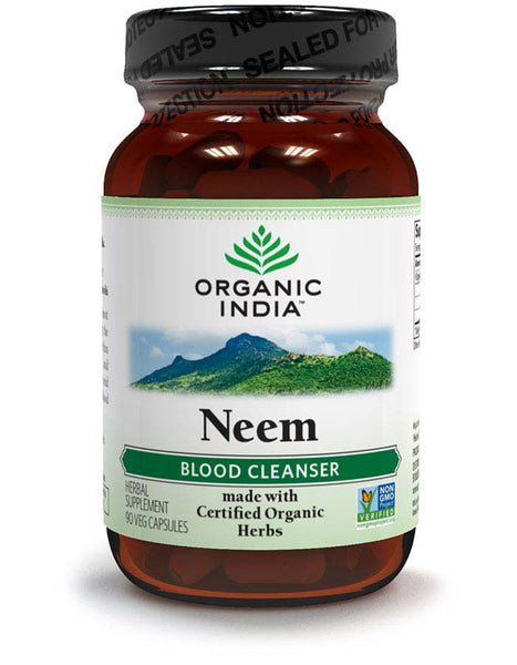 Organic India Herbal Supplement (Neem)- 90 Veg Caps