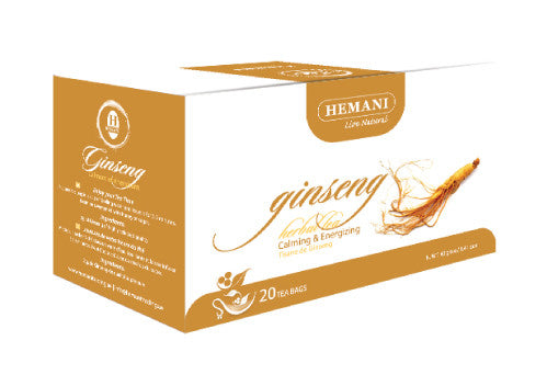 Hemani Herbal Tea (Ginseng) - 20 Tea Bags