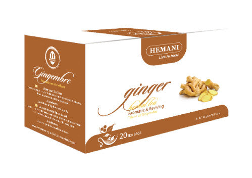 Hemani Herbal Tea (Ginger) - 20 Tea Bags