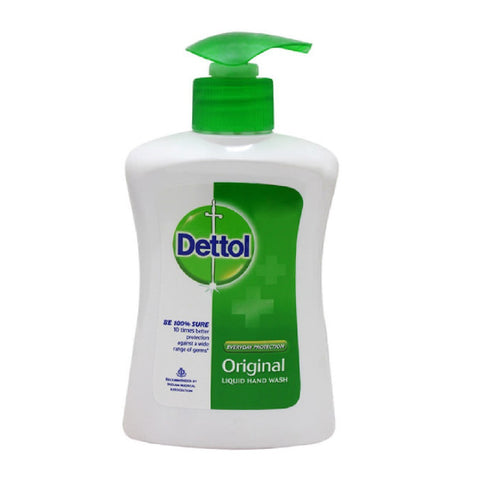 Dettol Liquid Hand Wash, Formulated for Everyday Hand Cleaning Use. (Original)- 215ml