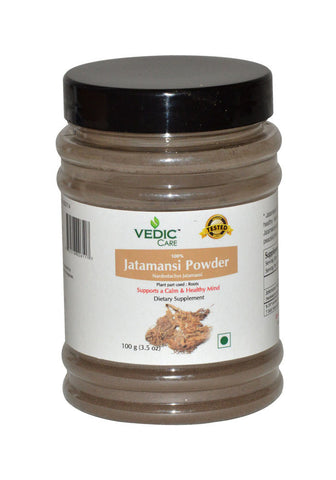 Vedic Care 100% Jatamansi Powder- 100grm