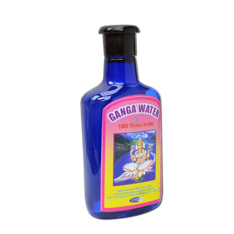 Ganga Jal, Ganges Water 1008 tirthas 375 ml for Puja and other Hindu Ceremonies