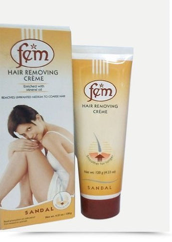 Fem Hair Removing Cream Sandal- 120G