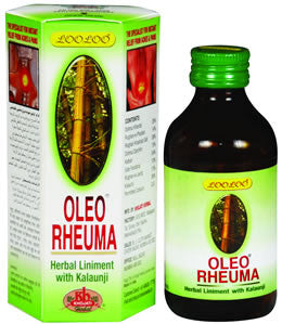 Khojati LooLOO Oleo Rhema Herbal Liniment With Kalaunji- 50ml