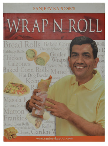 Indian Cooking Book (Sanjeev Kapoor' Wrap N Roll) (English)