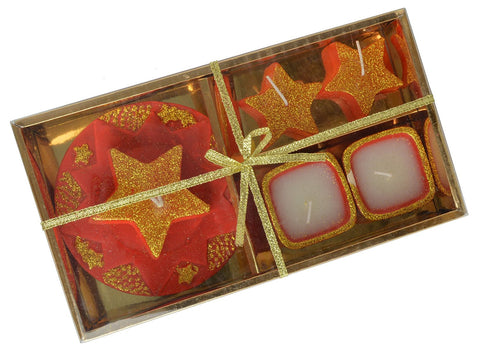 Wax Candles Diyas for Diwali Celebration Attractive Design