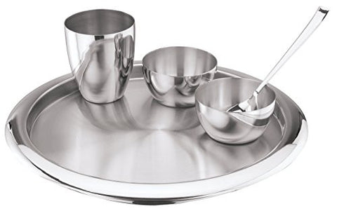 Kraft Stainless Steel Dinner Set 5