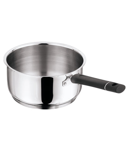 Vinod Tivoli Stainless Steel 1.1 Ltrs Saucepan (Without Lid)