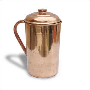 Akash Pure Copper Jug with Lid for Health Benefits