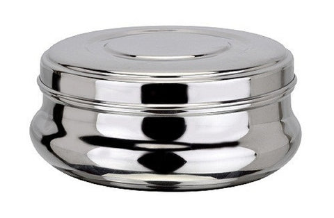 Dollar Stainless Steel Container/Puri Dabba
