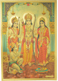 "Gold Poster (Ram Darbar) Poster Size : 8.5"" x 12"" Approx."