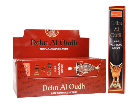 Nandita Pure Agarwood incense sticks- 15 gms (Dehn Al Oudh)