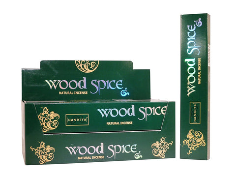 Nandita Pure Agarwood incense sticks- 15 gms (Wood Spice)