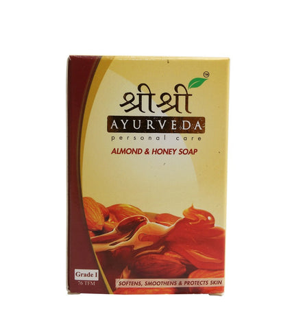 Sri Sri Ayurveda Almond And Honey Soap (100Grm)