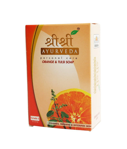Sri Sri Ayurveda Orange And Tulsi Soap (100Grm)