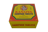 Kanaiya Camphor Tablets from India - 400 Grams - 128 Tablets (16 Blocks of 8) Brand - wallets for men's at mens wallet