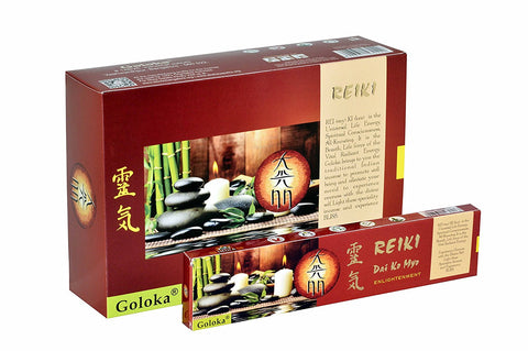 Goloka reiki series collection high end incense sticks 15 gms  (Dai ko myo)