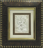"Silver Picture in Frames Ganesh 8""x8"" - wallets for men's at mens wallet"