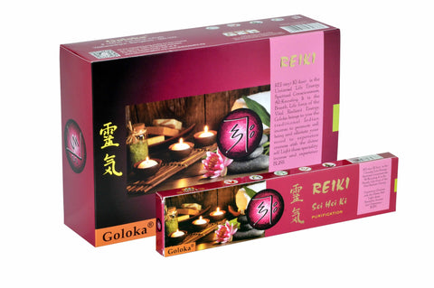 Goloka reiki series collection high end incense sticks 15 gms  (Sei Hei ki)