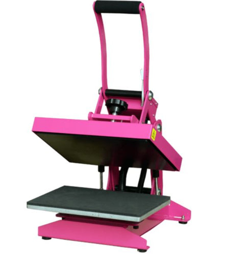 Hotronix Pink Craft Heat Press (includes $30 Shipping)