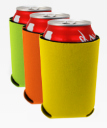 Can Cooler Foam Sleeves-Various Colors