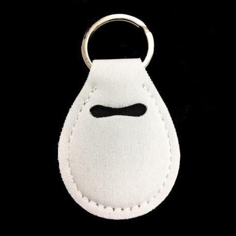 Neoprene Quarter Holder Keychain for Sublimation
