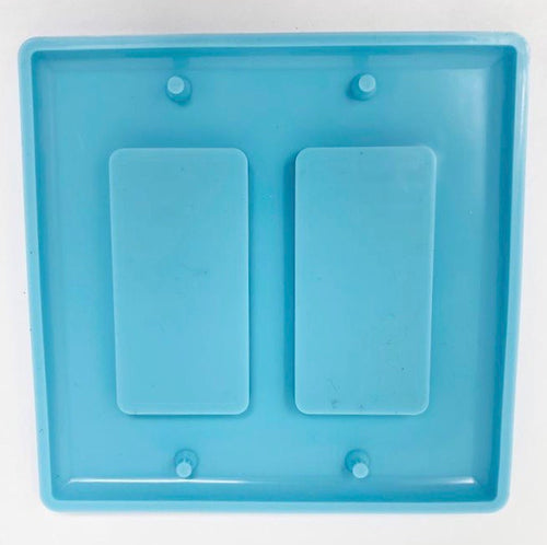 Double Rectangle Light Switch Cover