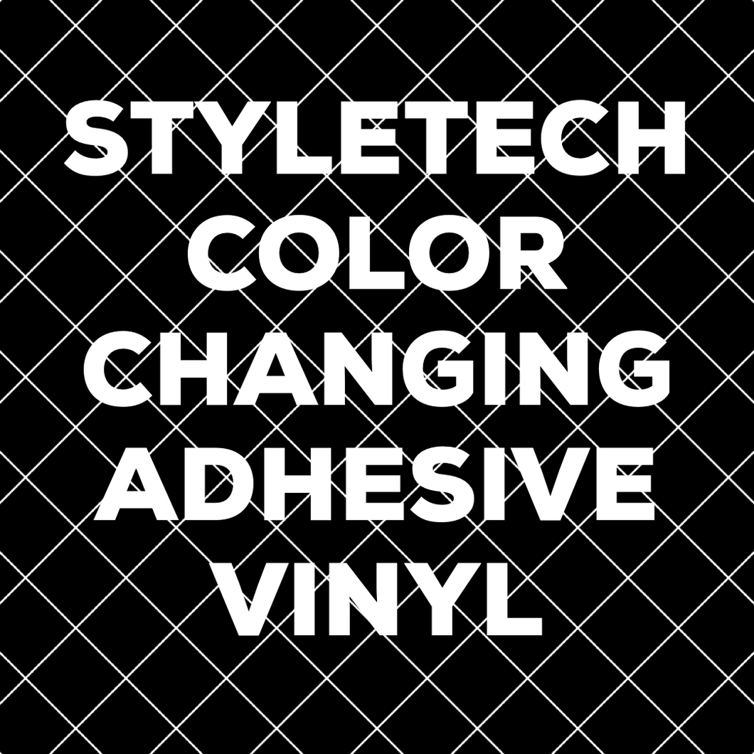 Color Changing Adhesive Vinyl 12x12 Sheets