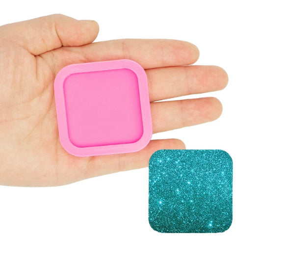 Square-Phone Grip/ Topper/ Coaster Mold