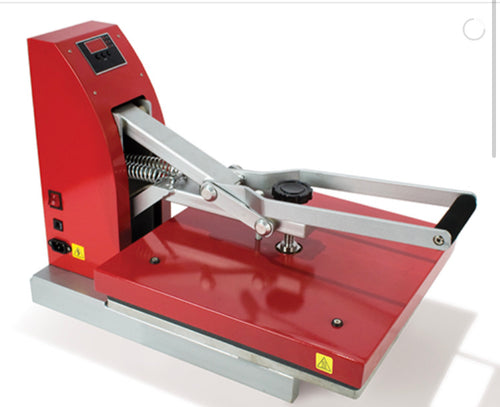 Siser Red Digital Clam Presses (includes free shipping to store)