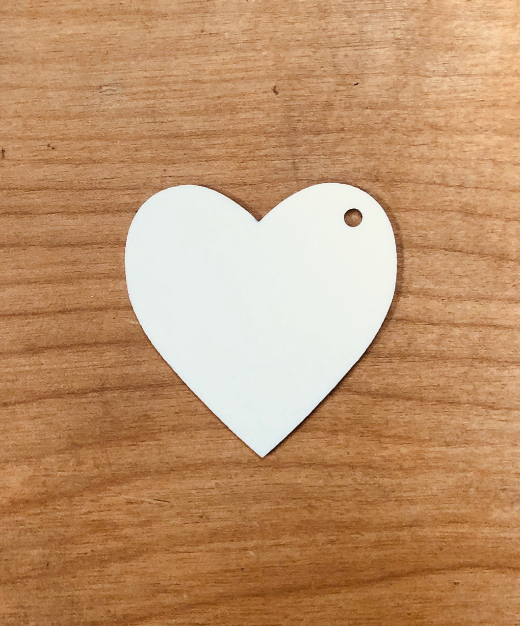 Heart Shaped Keychain Blanks for Sublimation