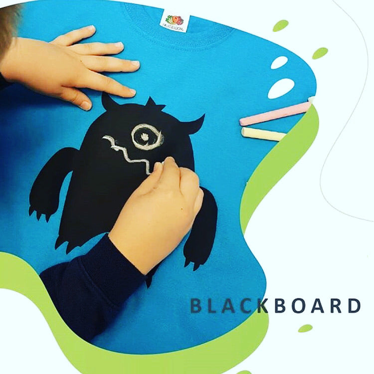"Siser Blackboard HTV 12x15"" Sheets for Kids' DIY Projects"