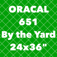 "Oracal 651 Yard (24x36"")"