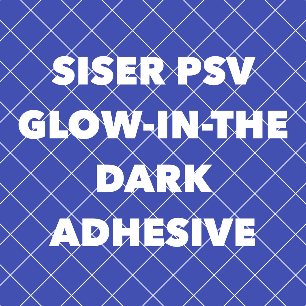Glow-in-the-Dark Adhesive Vinyl 12