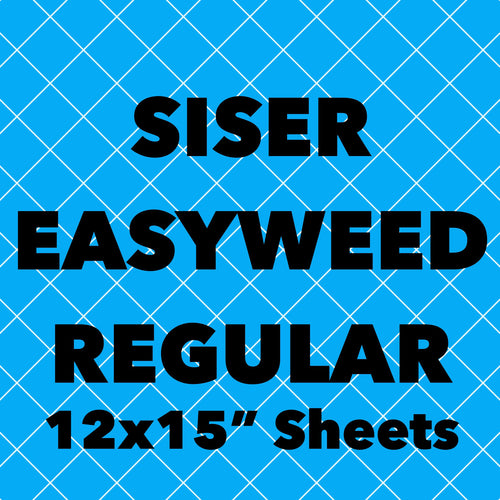 Siser EasyWeed Regular Sheets (12x14.75