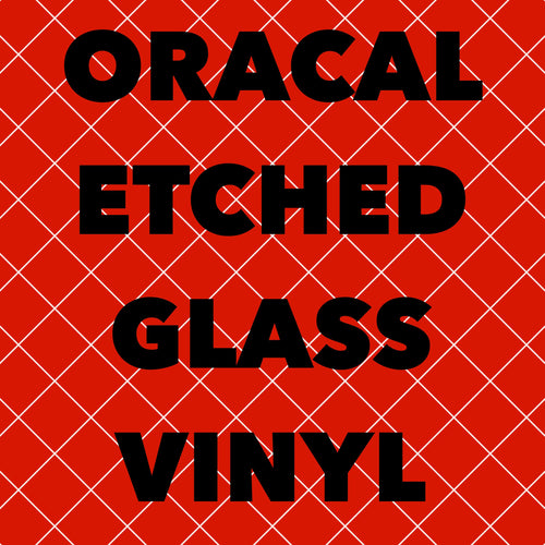 Oracal Etched Glass Vinyl 12x12 Sheets
