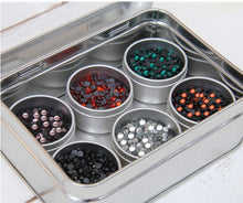 Rhinestone Storage Tin (Holds 6 Colors)